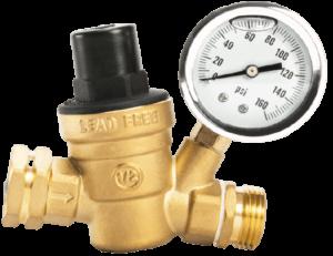 Esright Brass Water Pressure Regulator
