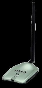 Alfa High Gain USB RV for wifi